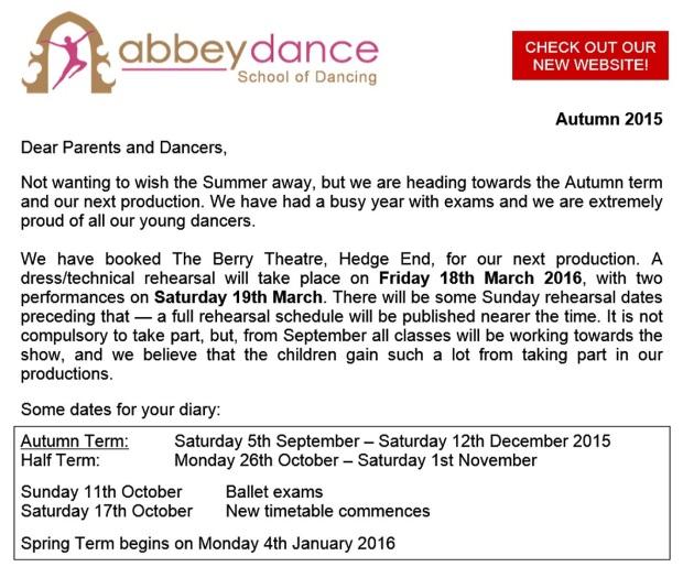 Autumn15Newsletter